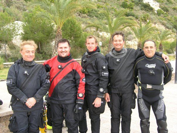 Fulvio Azzini in Alicante by GRAVITY ZERO DIVING TEAM