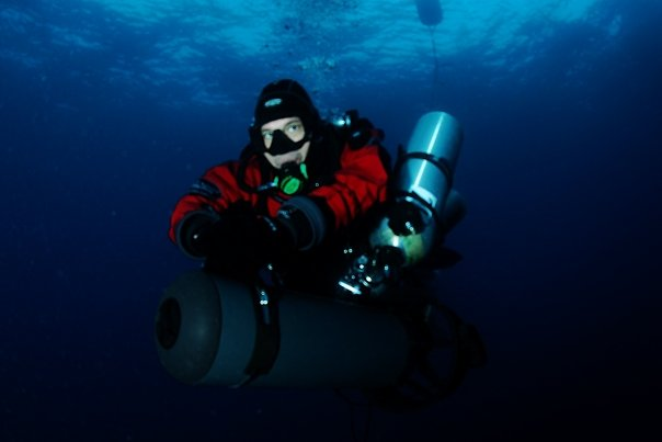 Diego Aldegani e Umberto Musto by GRAVITY ZERO Diving TEAM