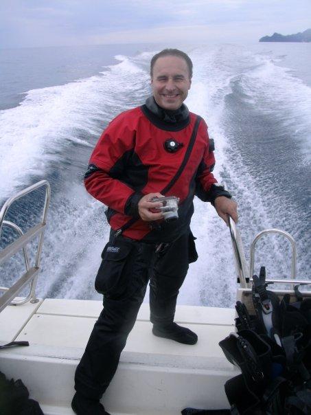Cristiano Bucci by GRAVITY ZERO Diving TEAM
