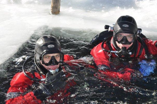 Bolzano Sub sotto i ghiacci by GRAVITY ZERO Diving TEAM