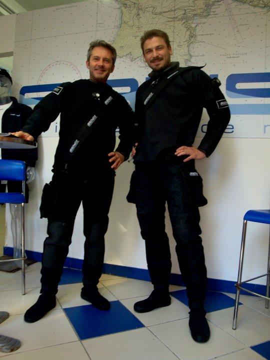 Riccardo Giannini & Alfonso Pascucci by GRAVITY ZERO Diving TEAM