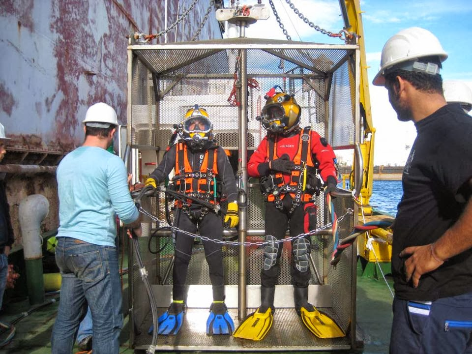 attrezzatura subacquea per commercial diving