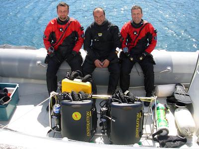 Calandrelli e Masucci all'Elba con il CCR