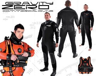 Vestizione per Commercial Divers