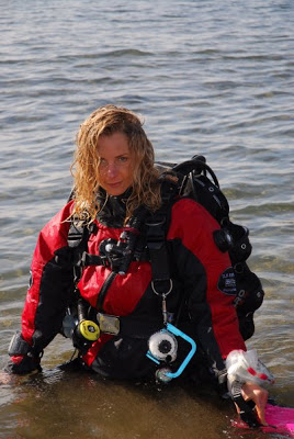 Daniela Capone con TLS RANGER GRAVITY ZERO Diving TEAM