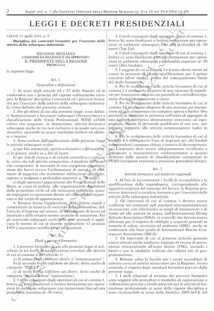 Legge Lentinini ex DDL 698