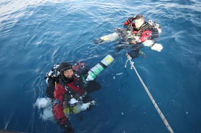 Gianni Calandrelli & Roberto Masucci by GRAVITY ZERO Diving TEAM