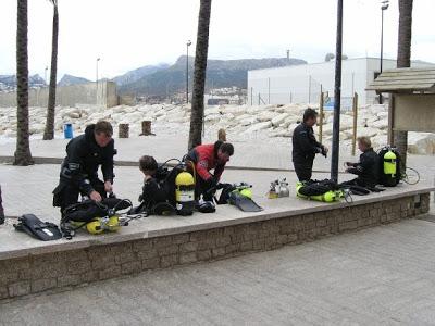 GRAVITY ZERO Diving TEAM Espana