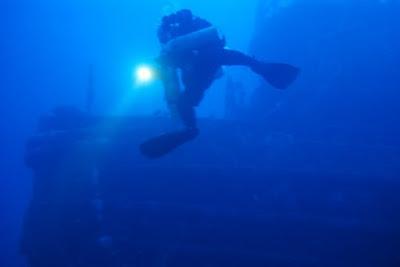 Immersione sul relitto del Miseno by GRAVITY ZERO Diving TEAM