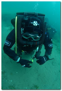 Marcello Zazzaro con rebreather by GRAVITY ZERO Diving TEAM