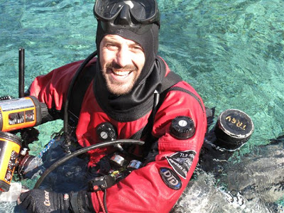 Nick Toussaint in Florida by GRAVITY ZERO Diving TEAM