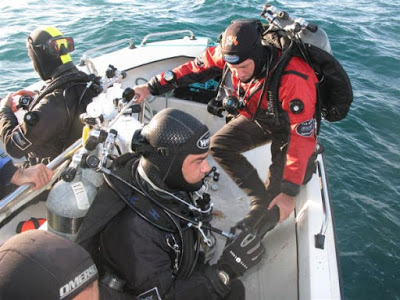 Nuno Horta and GZ Divers in action