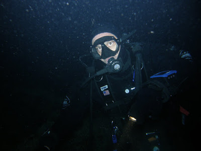 Pasquale Montilla in immersione sul Gunny by GRAVITY ZERO Diving TEAM