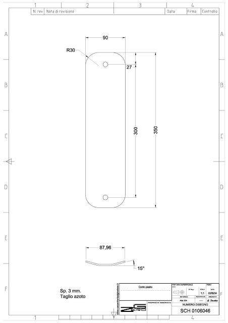 Progetto Flat Backplate - Anno 200