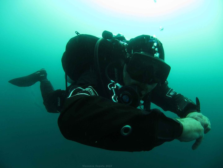 Marcello Zazzaro by GRAVITY ZERO Diving TEAM
